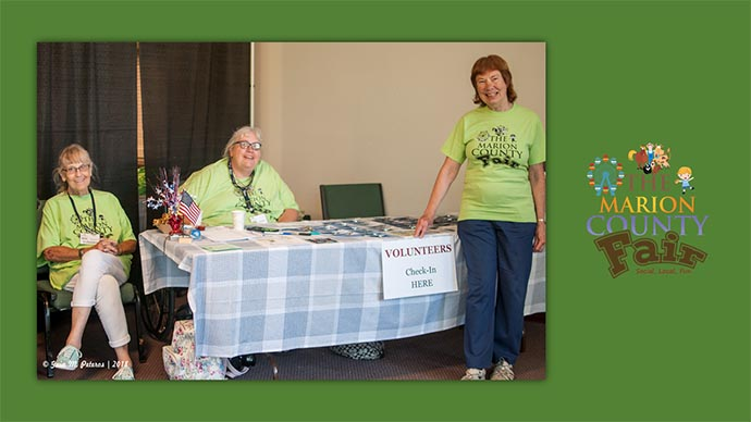Marion County Fair - volunteers