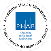 Accredited Health Department - Public Health Accreditation Board (PHAB)
