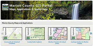 Marion County GIS Portal Maps, applications & Spatial Data