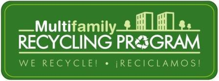Multifamily Recycling Program logo