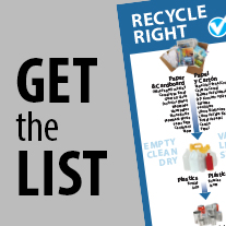 Get the List, Recycling Right