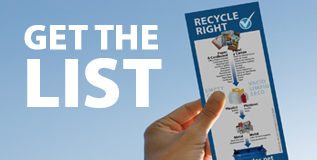 Get the Recycling List