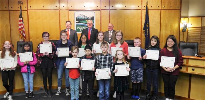 Student Recycle Art Calendar Awardees Announced