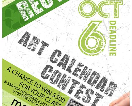 Marion County invites students to particiate in 2017 Art Calendar Contest