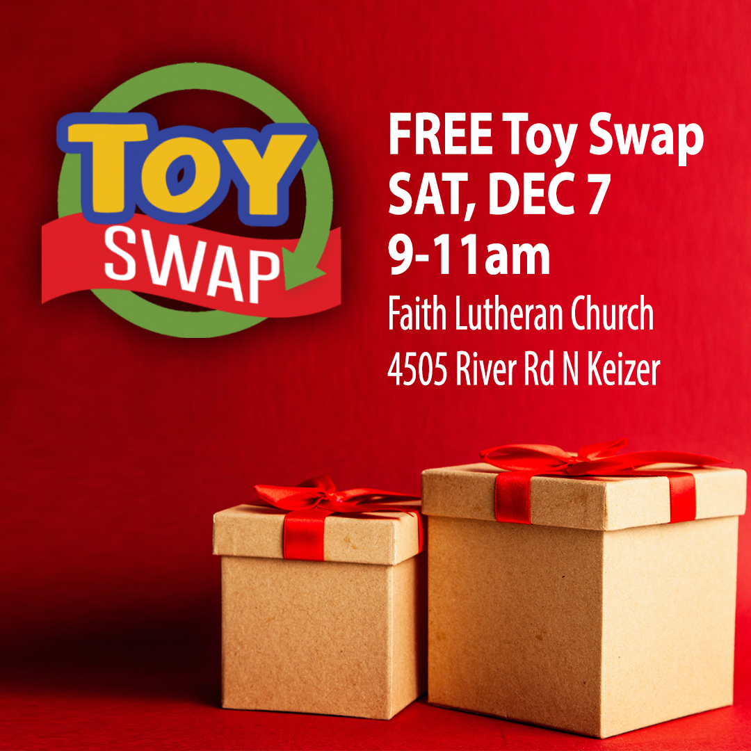 Free Toy Swap, Sat, Dec 7