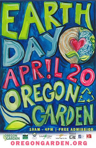 Free Earth Day Fair at The Oregon Garden