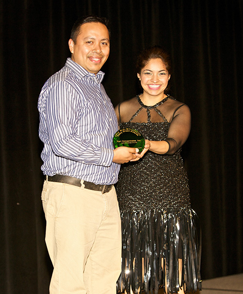 earthwise business of year: oscar torres with kerr concentrates