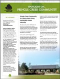 Pringle Creek Community Case Study Sheet