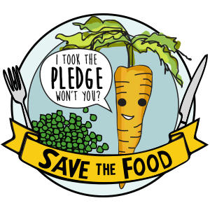 Save the Food pledge logo.