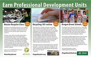 Professional Development Units Promo Poster