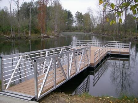 St. Louis Ponds fishing dock