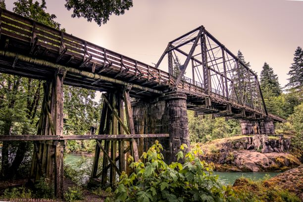 Mill City Historic Railroad Bridge Photo Contest Winners