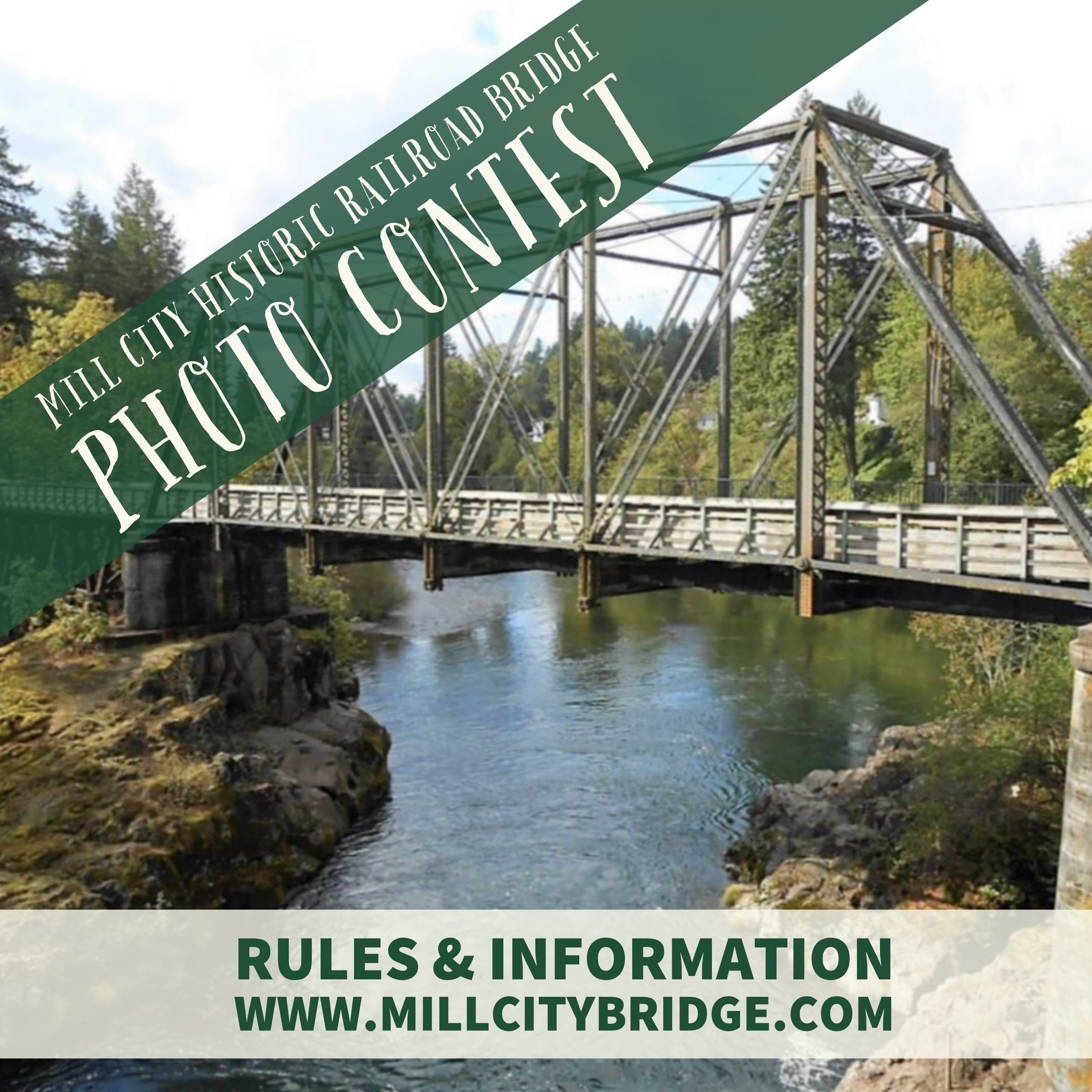 Enter The Mill City Historic Railroad Bridge Photo Contest!