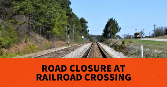 Quinaby Road NE to close at railroad crossing on 7/22-24