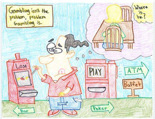 Students recognized for gambling awareness artwork