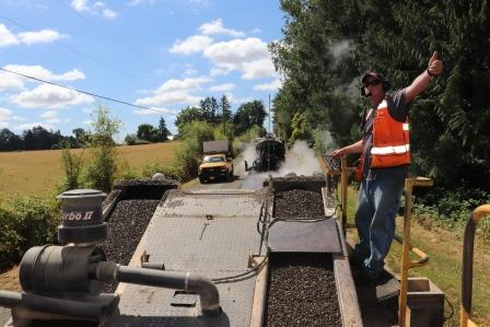 Chip seals extend life of county roads
