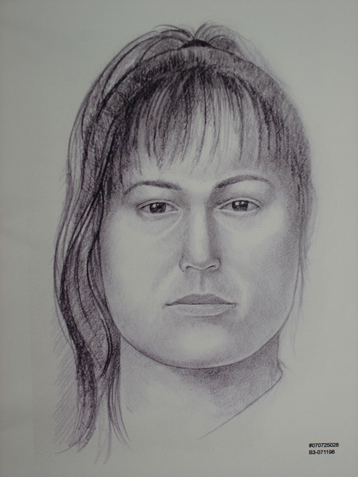 unidentified female victim