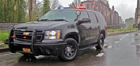 Jefferson Marion County Sheriff SUV