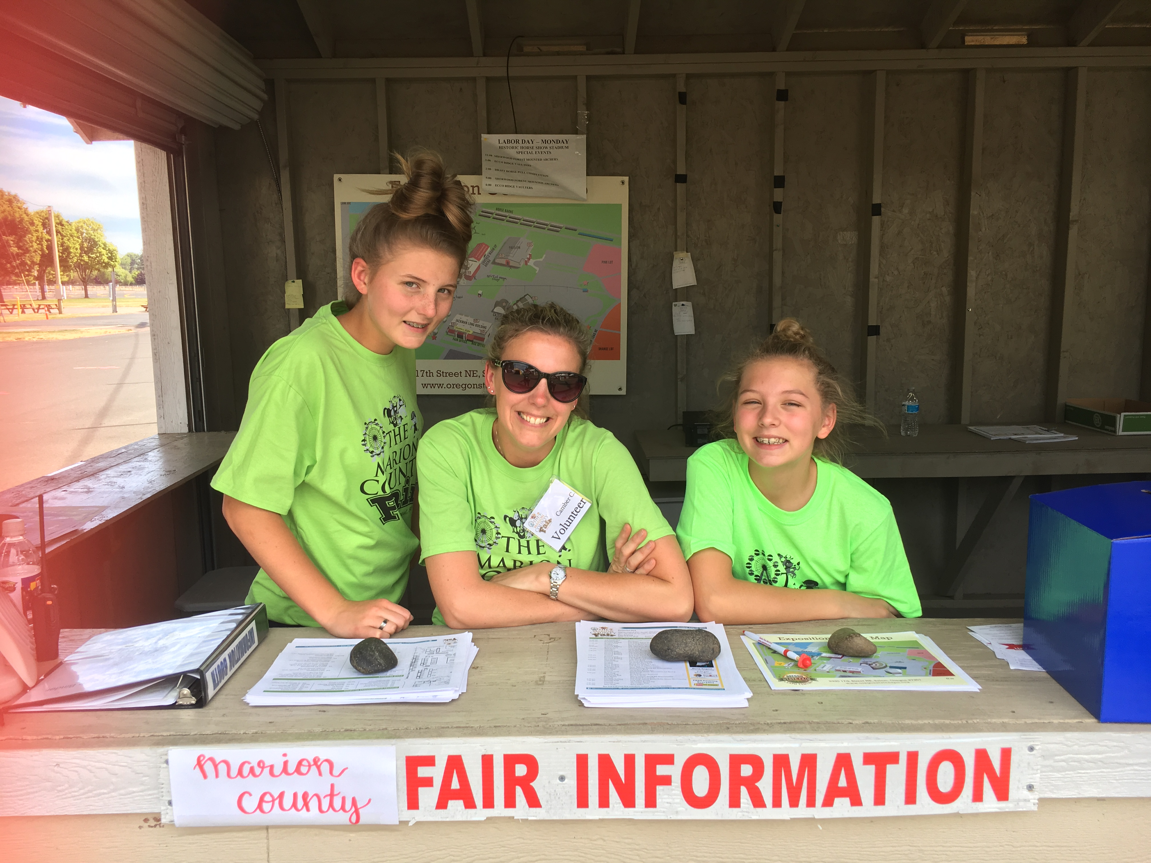 Marion County Fair Volunteers
